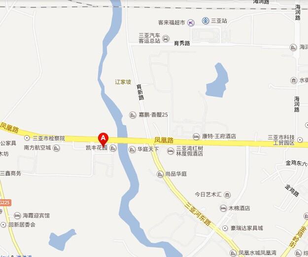 海亮租车 三亚地址 地图