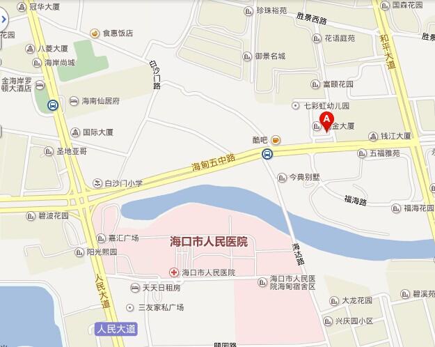 海亮万博体育官方网址app 海口地址 示意图